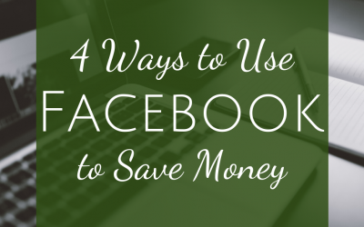 4 Ways to Use Facebook to Save Money