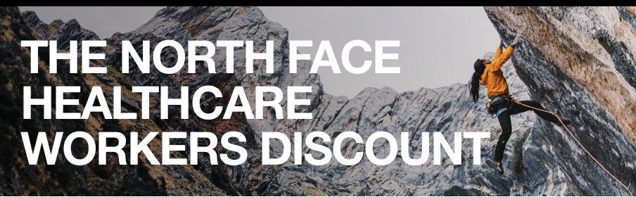 Northface is Offering a 50% Discount for Healthcare Workers