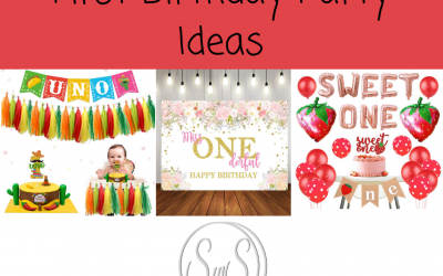 First 1st Birthday Party Ideas
